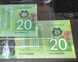 COLOR ERROR > Unique Blue Green Tint Coloring on Back only< Canada 2012 CBS