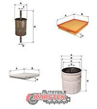 Set L: Ölfilter+Kraftstofffilter+Luftfilter+Innenraumfilter Filterset OPEL