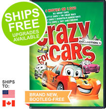 Crazy for Cars Collection (DVD, 2010) NEW, Sealed, Lightning McQueen
