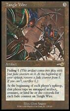 1X Tangle Wire - Nemesis - * T-Chinese, LP Signed by Angus * MTG CARD