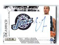 NBA Eric Maynor 2009-10 Panini Utah Jazz VCU Autograph Rookie Card SN 295/369