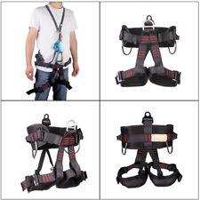 Safety Rock Tree Climbing Rappelling Harness Seat Belt Half Body Harness