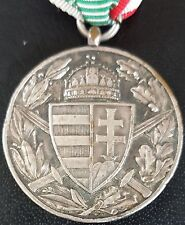 ✚7570✚ Horthy era Hungary Hungarian Commemorative Medal of the World War WW1