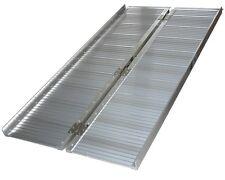 Aluminium Wheelchair ramp Fold-up 90cm 270Kg Loading