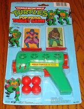 Teenage Mutant Ninja Turtles Pop Pistol Target Game Still Sealed In Package