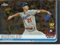 WALKER BUEHLER ALL-STAR GAME RC 2019 Topps Chrome UPDATE Card 89 ROOKIE GOLD CUP