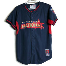 MLB Majestic All Star Game National League Baseball Jersey Shirt Youth L Blue