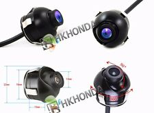 360° angel CCD HD Car Back Side Reverse Camera Kits Side  View Parking Color