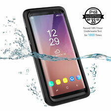 Military Heavy Duty Shockproof Hard Warerproof Case For Samsung Galaxy S8 plus