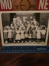 African Americans class photo from Canton Ohio Segregation