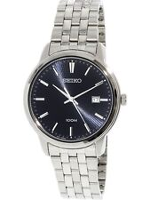 Seiko Men's Stainless Steel 41mm Watch SUR259 New in Box with Tags