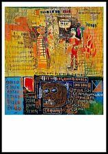 Jean-Michel Basquiat Kunstkarte Postkarte nicht signiert