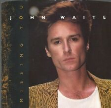 JOHN WAITE Missing You 45 RECORD with PS PIC SLEEVE EXCELLENT