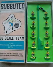 SUBBUTEO SPECIAL TEAM BRASIL PLAYERS & COLOURED BOX IN GREAT CONDITIONS RARE