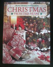 CHRISTMAS FROM THE HEART- Vol. 9~BH&G Staff~HC~149 Pgs~2000 1st Ed.~ 052:B-11