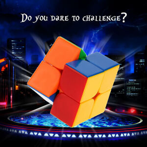 Dayan 2 * Cube Speed Cubo Solid Plastics Cube Puzzle Colorful Q0B6