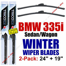 WINTER Wiper Blades 2-Pack Premium fit 2007-2013 BMW 335i (sedan only) 35240/190
