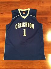 Creighton Bluejays Replica Basketball #1 Jersey Size L Large Alleson Athletic