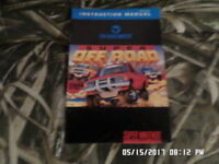 Super Off Road (SNES Super Nintendo) Instruction Manual Only... NO GAME