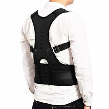 Ceinture correcteur Posture Soutien DOS Douleur Magnetique Therapie Ajustable