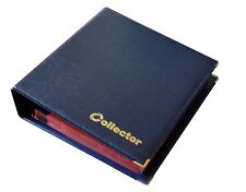 Blue Coin Album 300 Coins Mix Sizes Book Folder Big Capacity Pages Collector