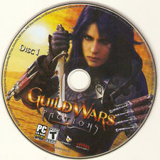 replacement Disk I ONE Disc#1 only for Guild Wars Factions PC IBM Game