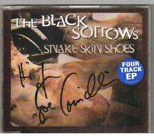 THE BLACK SORROWS Snake Skin Shoes NEW EP CD Signed By Joe Camilleri (Jo Jo Zep)