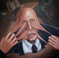 Jannys ART - VERZWEIFELT - Kunst Malerei handgemalt Acryl Bild Leinwand