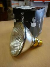 ormalight PAR38 E27 150W Spot 15º Lámpara de vidrio prensado Reflector raro