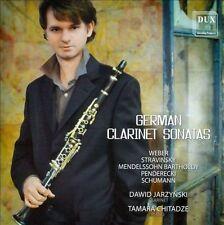 German Clarinet Sonatas - Dawid Jarzynski, clarinet, New Music