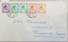 O) 1952 Africa, King Idris, To Sweden, Fine