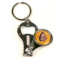 New NBA New York Brooklyn Nets 3 in 1 Key chain nail clippers bottle opener