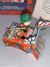 """Enesco Wheaties """"Christmas Is My Goal"""" Ornament Dated 1991 - Brand New In Box"""