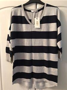 Oasis Fine Knit Sweater Size Small *BNWT* Beautiful Back Detail