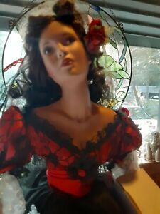 "Paradise Galleries Porcelain Doll ""Carmelita"". #385. Certificate and Box"