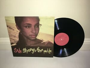 Sade - Stronger Than Pride LP Red lbl 1985 Russia 1st Press EX/EX- MEGA RARE 99p