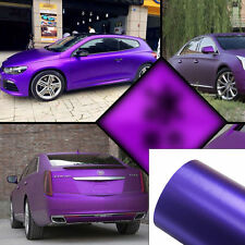 ICE Purple Auto Car Body PVC Vinyl Wrap Sticker Decal Film Sheet Vehicle DIY