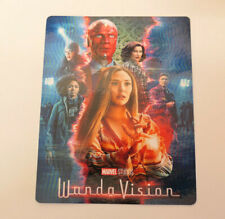 WANDAVISION - GLOSSY Bluray Steelbook Magnet Cover (NOT LENTICULAR)