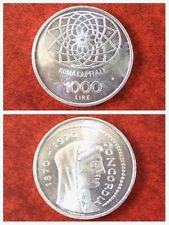 REPUBBLICA 1970 ROMA CAPITALE 1000 LIRE ARGENTO FDC.