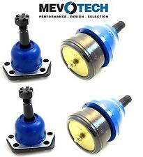 For Isuzu Pontiac Front Lower & Upper Ball Joints Kit Mevotech MK5208 MK6145T