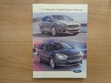 FORD GALAXY/S MAX Proprietari Manuale/MANUALE 15-17