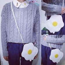 Women Girls Handbag Shoulder Crossbody Bag Poached Eggs Ladies Coin Purse Hobo