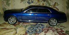 1:18 scale Bentley Mulsanne Speed dealer model. Lightly customized.
