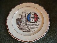 Assiette A Thiam Union Nationale des évadés de guerre et Passeurs de la Moselle