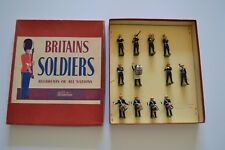 Look Britains Soldiers Regiments Of All Nations Band Of The Royal Marines,2153