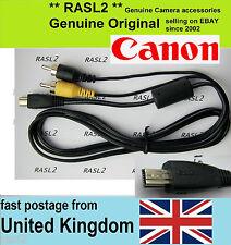 Genuine Original Canon AV cable PowerShot SX420 SX400 iS ELPH 140 iS SX610 HS