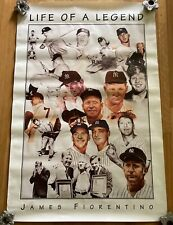 1997 Mickey Mantle New York Yankees -  Life of a Legend Poster