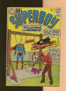 Superboy 92 VG 3.5 * 1 Book Lot * DC 1961! Otto Binder! Curt Swan! George Papp!