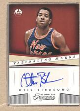 Otis Birdsong 46 2013-14 Panini Timeless Validating Marks Autograph Auto