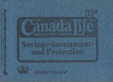 Gb Qeii 1974 Booklet Dp4 - Canada Life Assurance - 35p